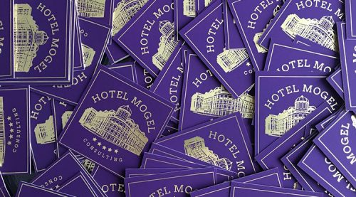 Hotel Mogel – Book Covers and Identity
