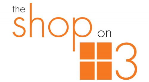 The Shop on 3 – Logo and Branding