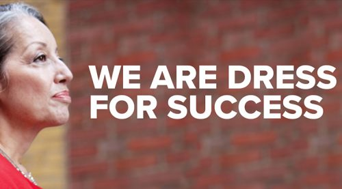 Dress for Success Toronto – Collateral Design